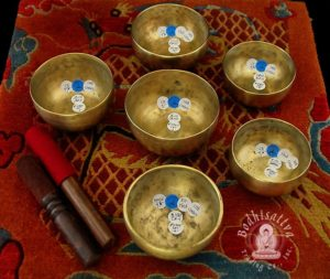 #2905 Pentatonic Fundamental Master Healing Cup Set