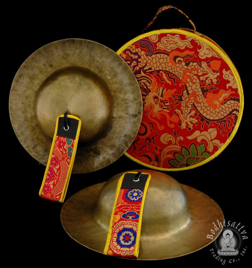 Photo of #11852 Rolmo cymbals with decorative ase