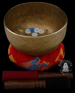 12583 Antique Buddha singing bowl